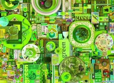 Legpuzzel - 1000 - Groen