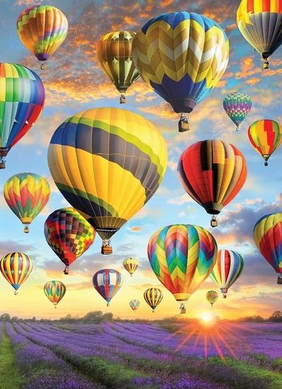 Legpuzzel - 1000 - Luchtballonnen