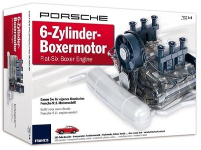 Porsche 6-cilinder boxermotor - Franzis
