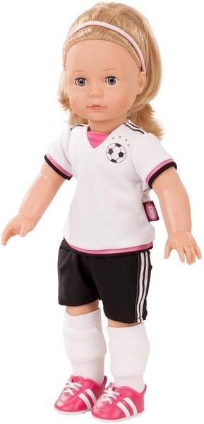 Jessica op het voetbalveld - Götz