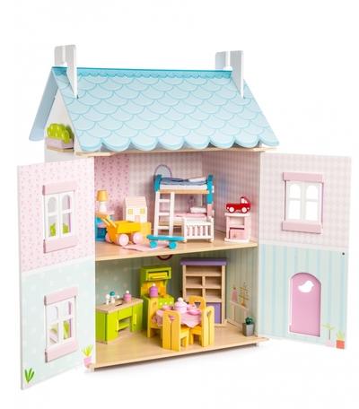 Poppenhuis - Blue Bird met meubels - Le Toy Van