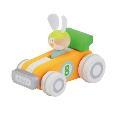 Sevi Racewagen konijn - Trudi
