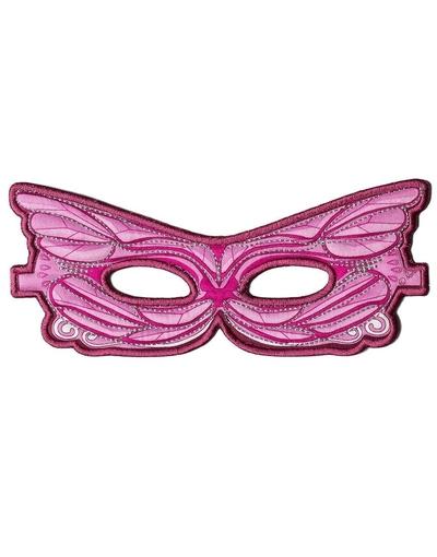 Verkleedkleding roze masker