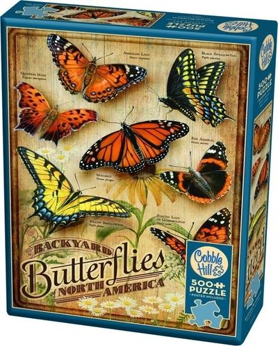 Legpuzzel - 500 - Vlinders