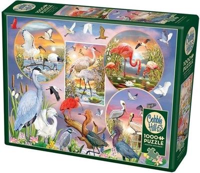 Legpuzzel - 1000 - Watervogels