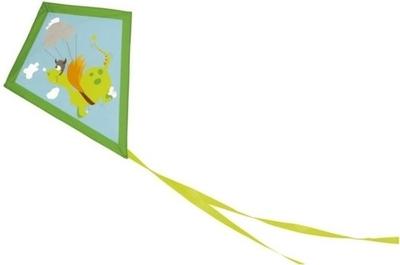 Scratch vlieger draak