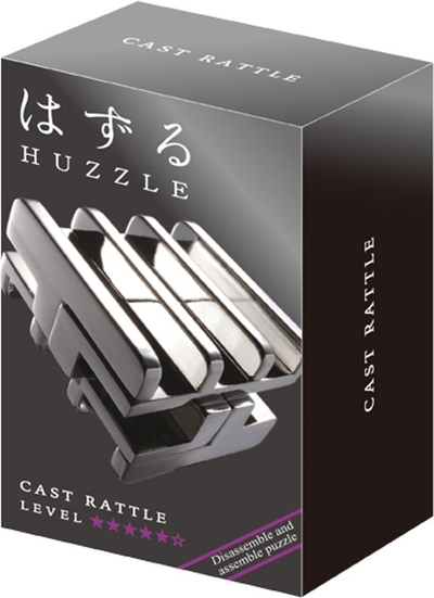 Huzzle Cast Rattle *****