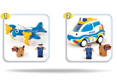 WOW Toys - Police Patrol - 2delig