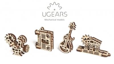 UGears U-Fidget 4 in 1 - creaties