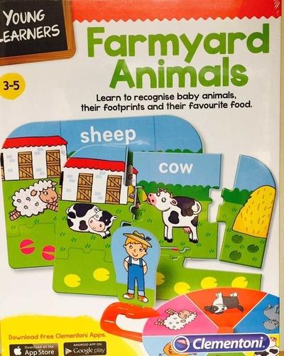 Legpuzzel - Farmyard Animals
