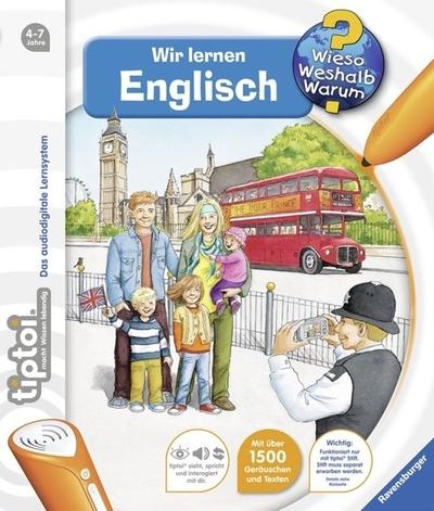 Educatief leerboek Wir Lernen Englisch TipToi