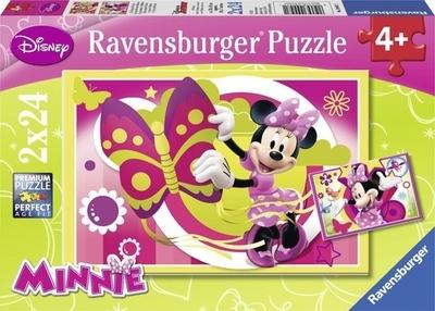 Ravensburger 2x24 puzzel Minnie