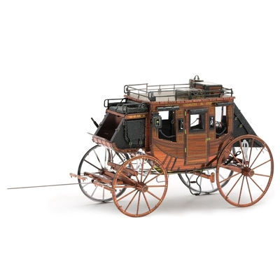 Wild West Stagecoach - Metal Earth