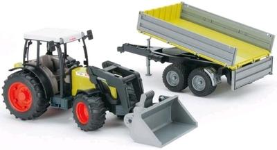 Bruder Tractor met voorlader Claas Nectis