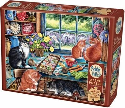 Legpuzzel - 275 - Kattenverblijf