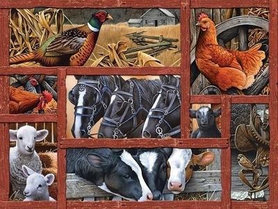 Legpuzzel - 275 - Farmyard Friends