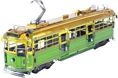 Melbourne W-Class tram - Metal Earth