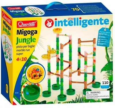 Quercetti knikkerbaan Migoga Jungle - 110 onderdelen