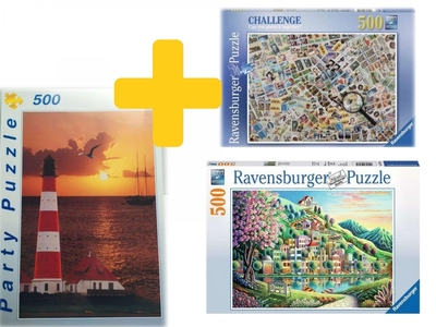 Legpuzzels voordeelpakket puzzelpalet