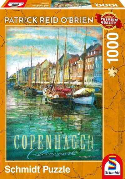 Legpuzzel - 1000 - Kopenhagen