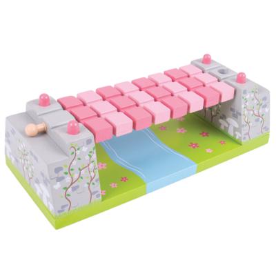 Bigjigs - Roze touwbrug