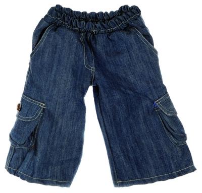 Kleding Handpoppen - spijkerbroek - 45cm