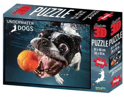 Legpuzzel 500 - Rocco onderwater hond