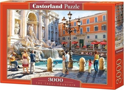 Legpuzzel - 3000 - De Trevi fontein