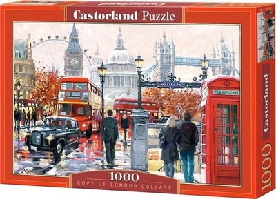 Legpuzzel - 1000 - London Collage