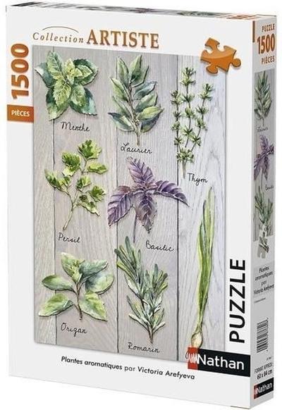 Legpuzzel - 1500 - Aromatische kruiden