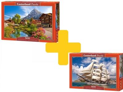Voordeelpakket puzzels Castorland 500 stukjes