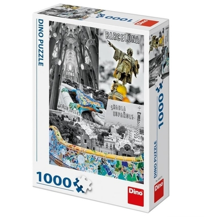 Legpuzzel - 1000 - Barcelona