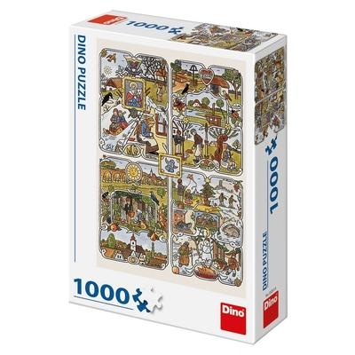 Legpuzzel - 1000 - Josef Lada Years Seasons