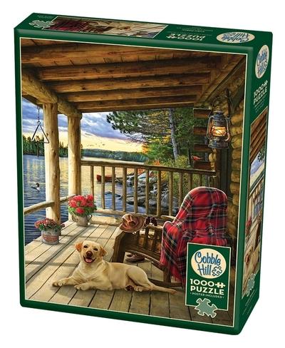 Legpuzzel - 1000 - Cabin Porch