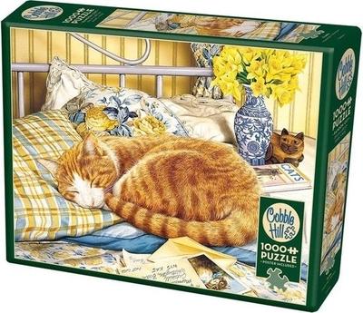 Legpuzzel - 1000 - Slapende kat