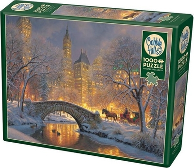 Legpuzzel - Winter in the park - 1000