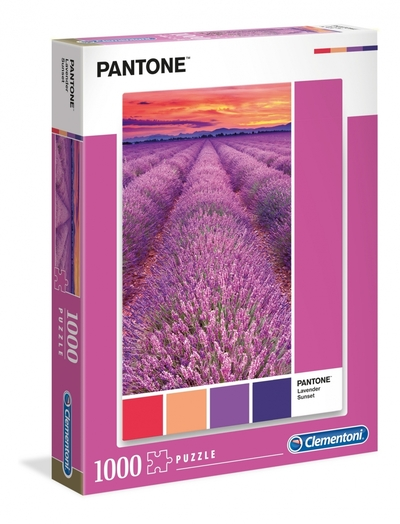 Legpuzzel - 1000 - Lavendel sunset