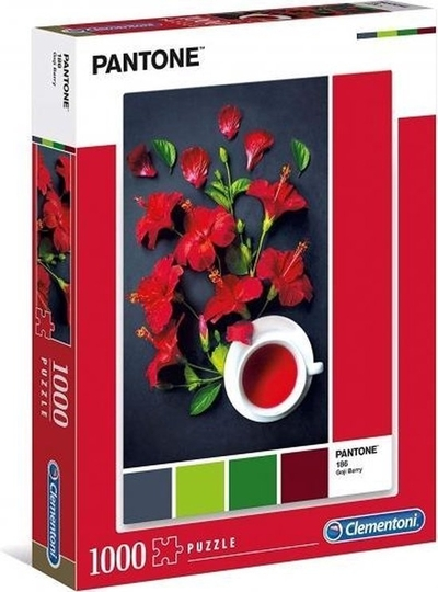 Legpuzzel - 1000 - Rode Hibiscus