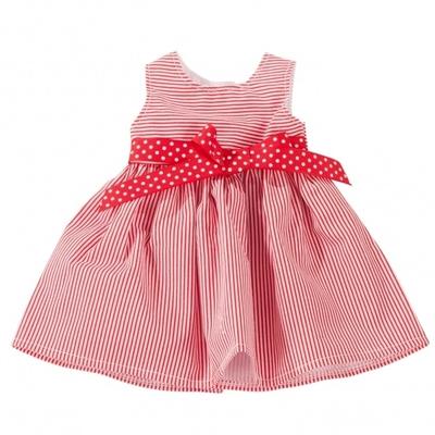 Rode jurk - 45-50cm - Götz