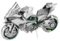 Kawasaki Ninja - Metal Earth