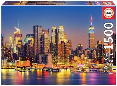 Legpuzzel - 1500 - Manhattan bij nacht
