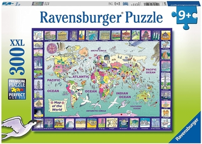 Legpuzzel - 300 - Map of the world
