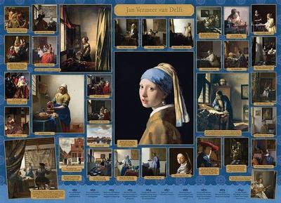 Legpuzzel - 1000 - Vermeer