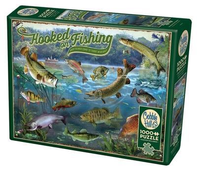 Legpuzzel - 1000 - Hooked on Fishing
