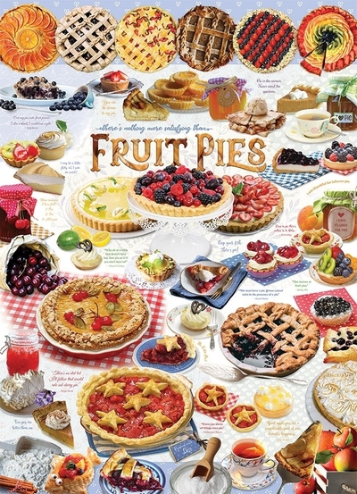 Legpuzzel - 1000 - Fruittaarten