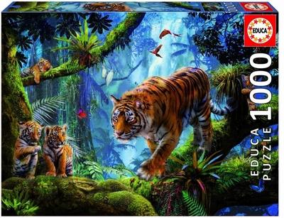 Legpuzzel - 1000 - Tiger on the tree