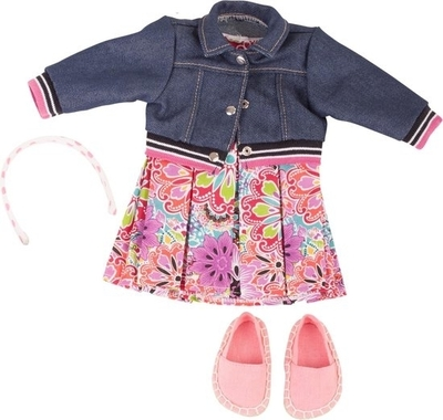 Trendy kledingset - 45-50cm - Götz