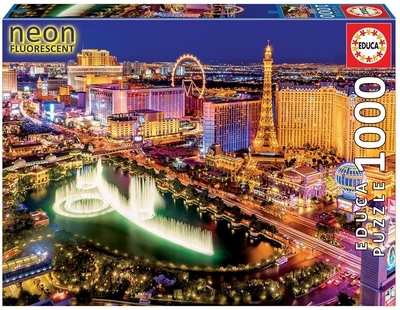 Legpuzzel - 1000 - Las Vegas neon