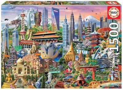 Legpuzzel - 1500 - Azie wolkenkrabbers