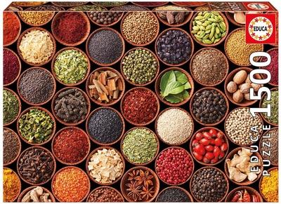 Legpuzzel - 1500 - Kruiden en specerijen